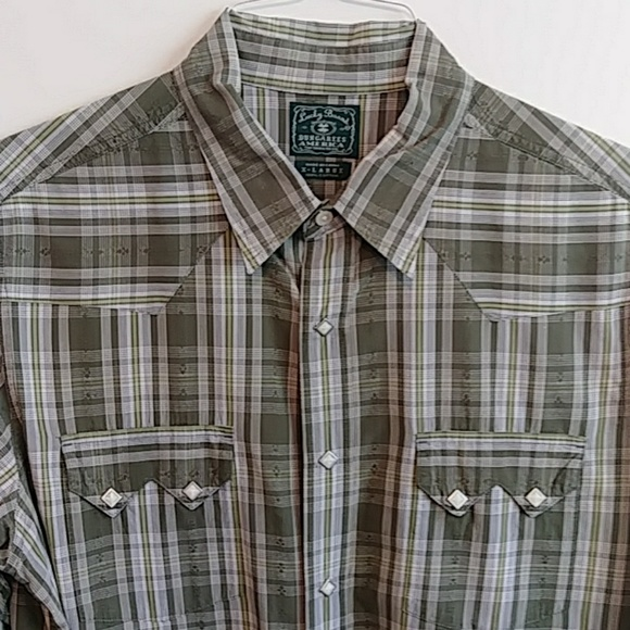 Lucky Brand Other - Lucky Brand Men's Western Shirt Sz XL